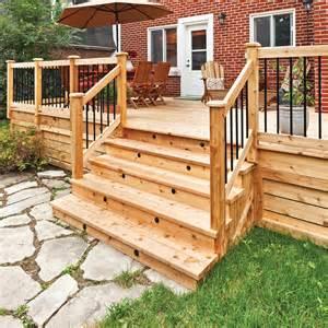 nivrem fabriquer escalier bois pour terrasse diverses id 233 es de conception de patio en