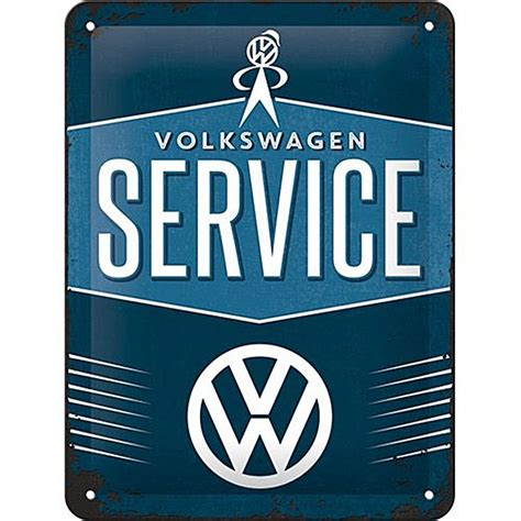 Volkswagen Sign In by Volkswagen Service Metal Sign Na 2015