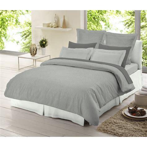 light grey bedding set dormisette light grey chambray 100 brushed cotton duvet