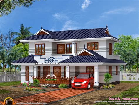 typical home typical kerala house plan kerala home design and floor plans
