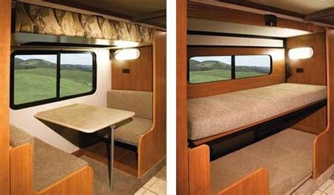 motorhome bunk beds cer bunkbeds on top of table fleetwood says