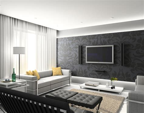feature wall with tv   living room decorating ideas feature wall with black wall large tv