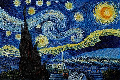 picasso paintings starry starry gogh quotes quotesgram