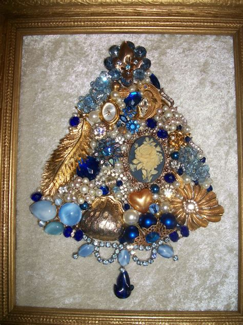 how to make a vintage jewelry tree vintage jewelry framed tree