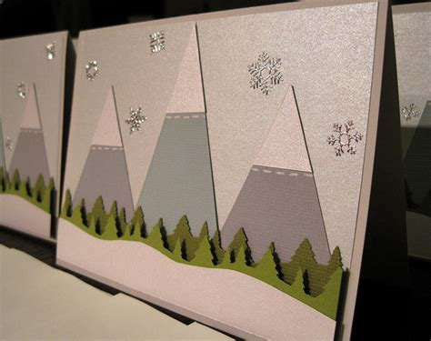 mountain crafts for diy card ideas to make this year arts to crafts