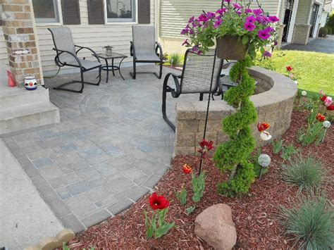 front patio design landscape contractor woodbury mn design hardscapes