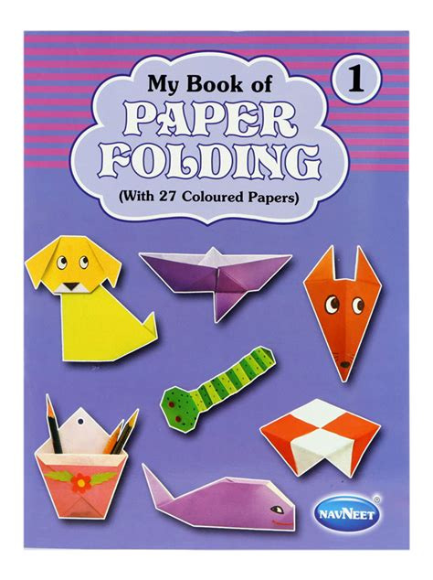 paper craft books free buy navneet my book of paper folding part 1 in