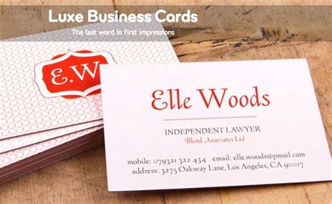 i want to make my visiting card luxe moo business cards feel as awesome as they look