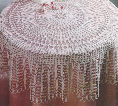 comment tricoter une nappe au crochet