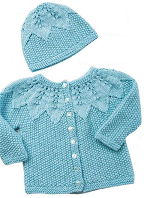 how to sew knitting edges together baby cardigan and hat knitting pattern free