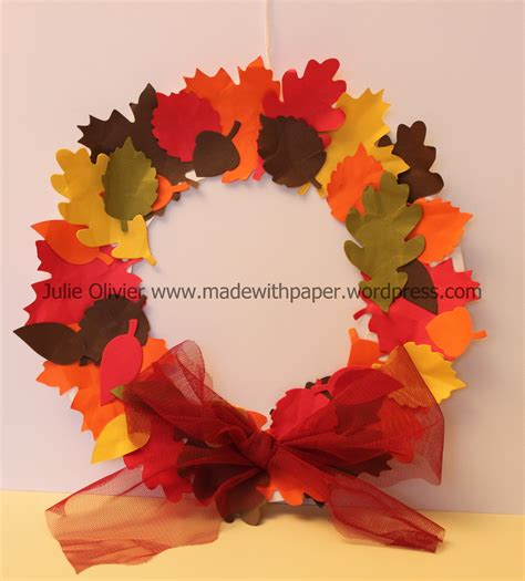 paper plate fall crafts autumn accents made with paper