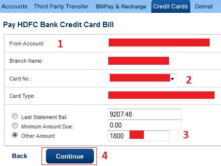 make payment of hdfc credit card finance guru speaks how to pay hdfc credit card bill