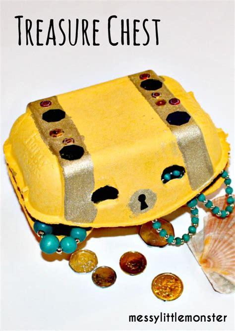 treasure chest craft for pirate treasure chest craft