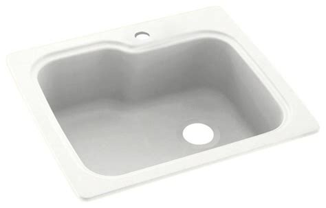 solid surface kitchen sinks swan 25x22x9 solid surface kitchen sink 1 kitchen