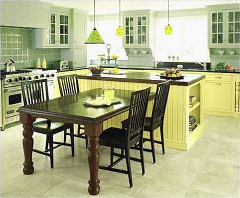 kitchen island with table combination 50 beautiful kitchen table ideas ultimate home ideas