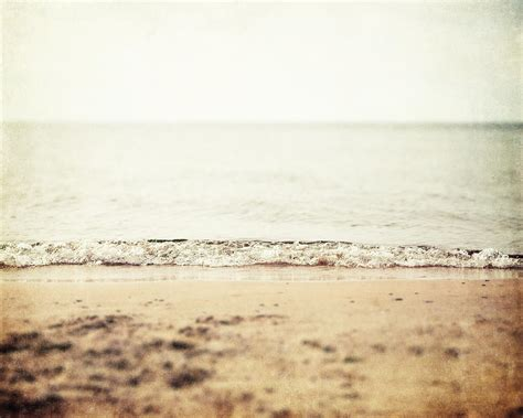 retro beach photograph by lisa russo