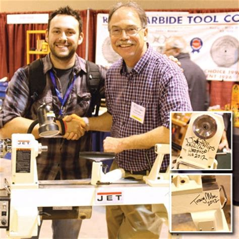 american woodworking show macomb stairs woodworker wins lathe in woodcraft drawing