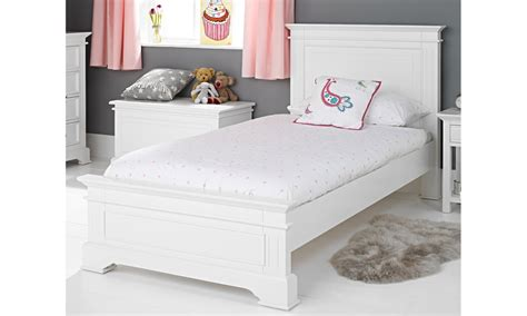 or single bed grace white single bed