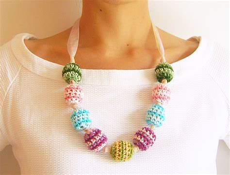 how to make crochet necklace with crochet necklace 183 how to knit or crochet a knit or