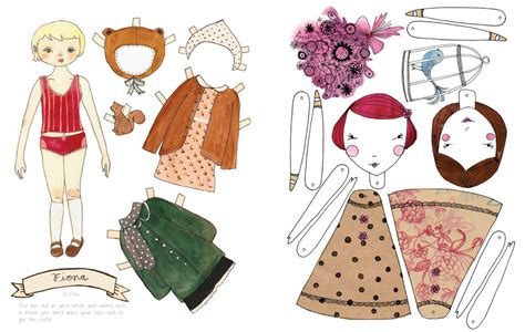 paper doll craft mollymoocrafts paper dolls and printables for