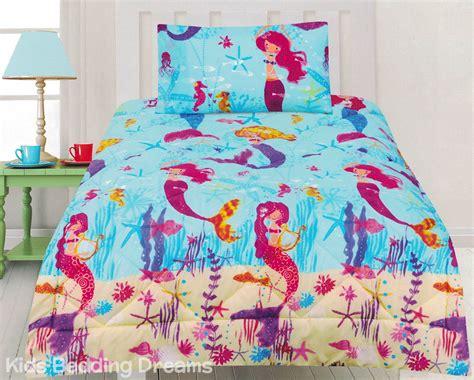 mermaid size comforter set mermaids comforter set quilt doona mermaid bedding
