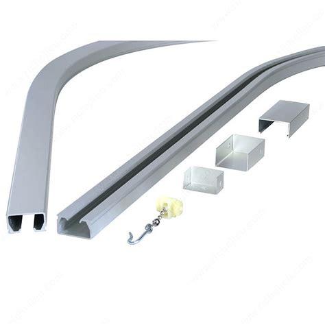 quincaillerie et rail en aluminium anodis 233 install 233 au plafond pour rideaux de cubicule d examen