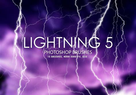 5 brushes free free lightning photoshop brushes 5 free photoshop
