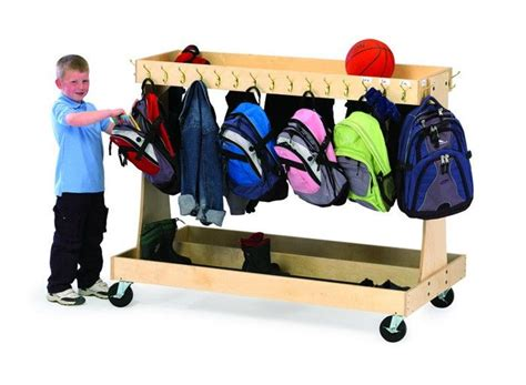 backpack storage solutions classroom coat and backpack storage solutions