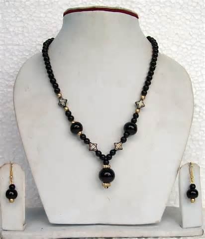 black beaded necklace fashion fashion jewelry dress watches black