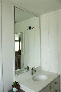 mirror for the bathroom how to professionally install a bathroom mirror