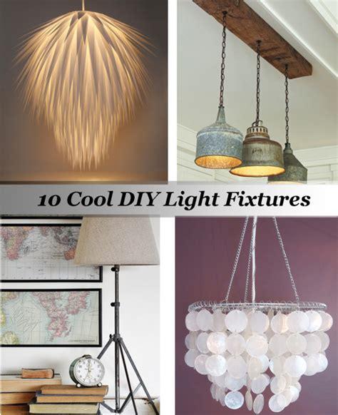 cool lighting fixtures diy lighting fixtures