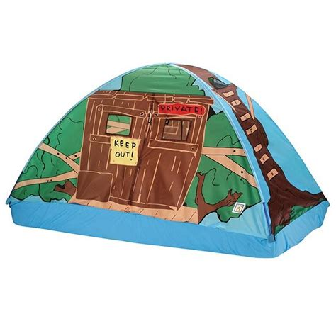 size bed tent pacific play tents tree house bed tent size