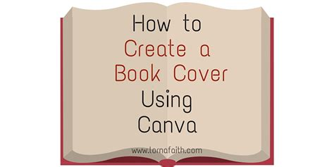 how to create a picture book how to create a book cover using canva