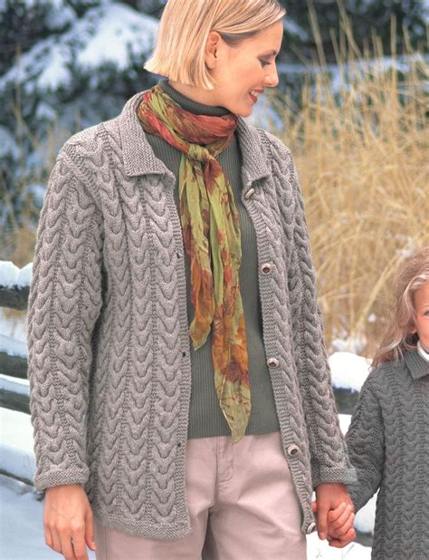 patons free knitting patterns cardigans yarnspirations patons kw cuddly cables
