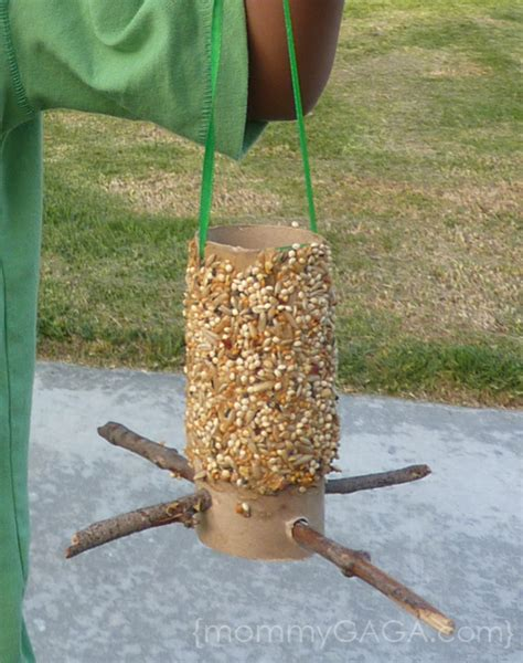 How To Make A Toilet Paper Roll Bird Feeder Craft Honey