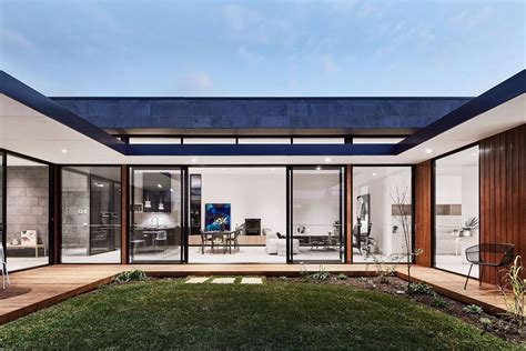 homes with courtyards modern courtyard house is a seaside curbed