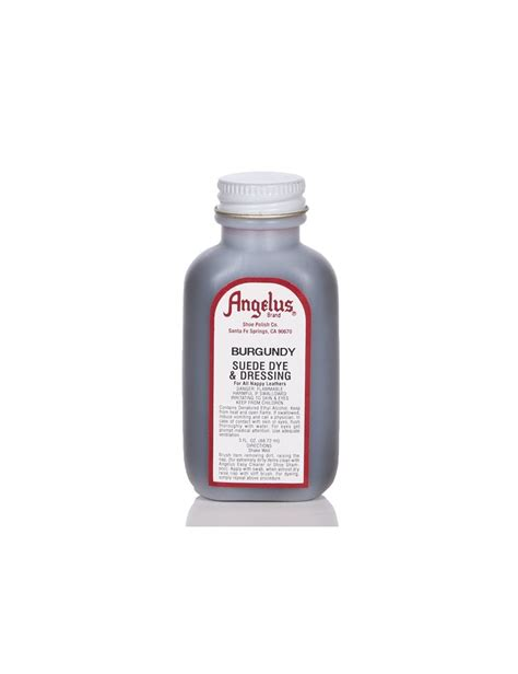 angelus paint for suede angelus dyes paint burgundy 3oz suede dye angelus