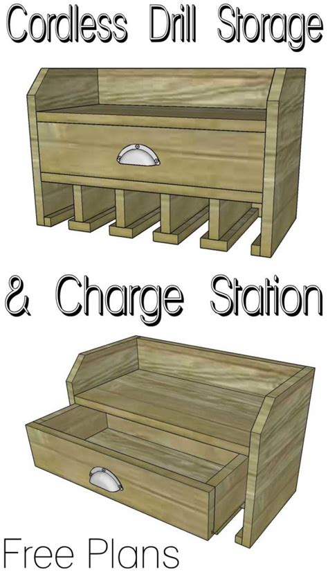 woodworking tool plans sure cordless tool station woodworking plan