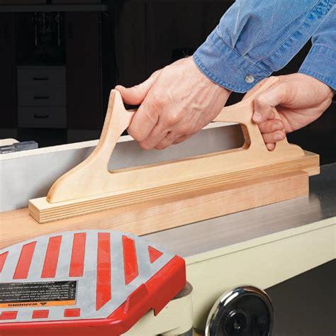 woodworking push blocks ultimate jointer push block woodsmith tips