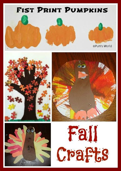 cool fall crafts for fall crafts for knutselen herfst