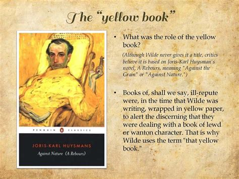 the yellow book in the picture of dorian gray delicious reads quot the picture of dorian gray quot by oscar