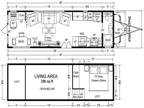 tiny floor plans tiny houses on wheels floor plans tumbleweed tiny house