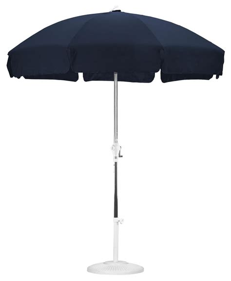 navy blue patio umbrella 7 5 navy blue patio umbrella protects from sun