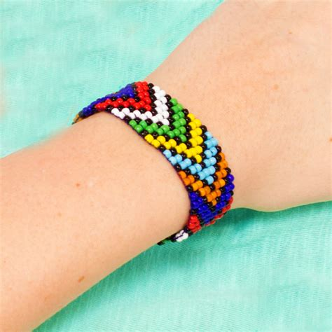 how to make beaded bracelets on a loom 16 easy seed bead bracelet patterns guide patterns