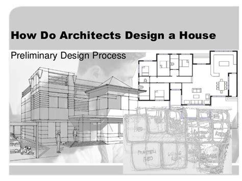 design a house how do architects design a house