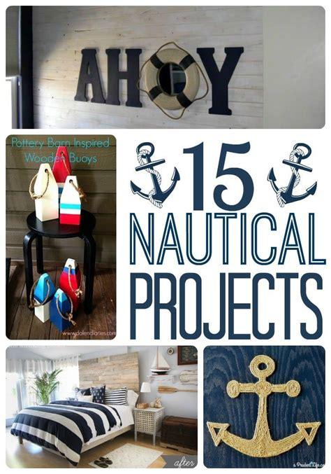 nautical craft projects diy nautical decor roundup polished habitat