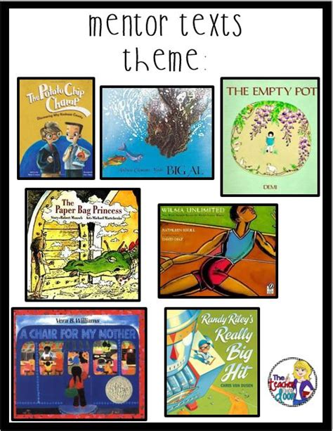 teaching theme with picture books teaching themes mentor texts and literature on