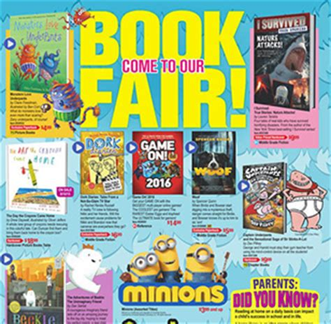 scholastic picture books scholastic book fair excelpto
