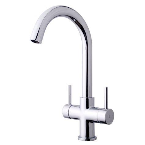 b q kitchen sink mixer taps cooke lewis zale chrome finish kitchen monobloc tap