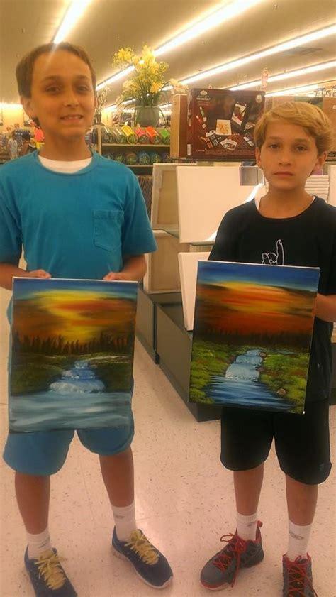 bob ross painting classes new smyrna kid s bob ross painting classes now offered after school